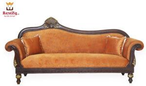 Buy Online Antique Carving Queen Diwan Brand Royalzig Handicrafts