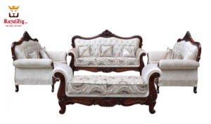 Hand Carved Viz Sofa Set