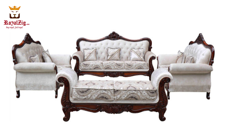 Hand Carved Viz Sofa Set