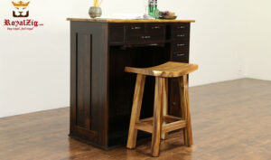 Carlos Antique Style Kitchen Counter
