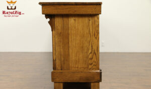 Casandra Antique Style Teak Wood Kitchen Counter