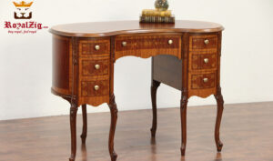 Classic Antique Style Round Office Table