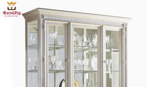Classical Style Vertical Crockery Unit
