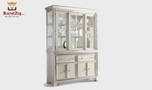 Classical Style Vertical Crockery Unit