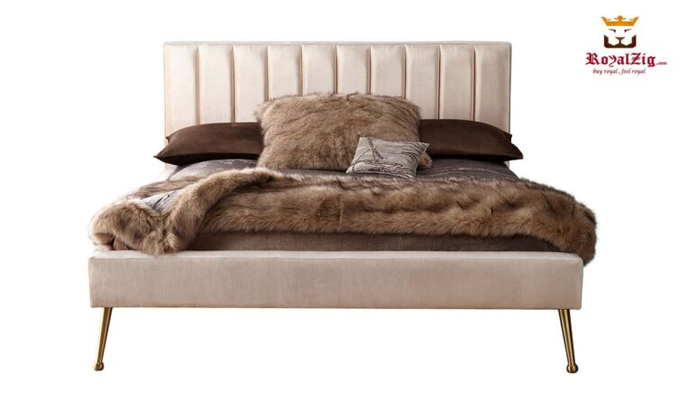 D Casta Contemporary California King Platform Bed Online in India