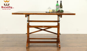 Dastros Antique Style Kitchen Chopper Table