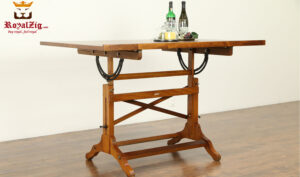 Dastros Antique Style Kitchen Chopper Table