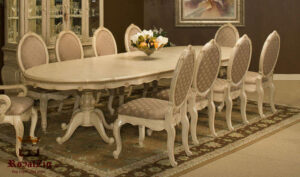 Elis Beautiful Antique Style Dining set Online in India
