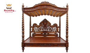 Elizabeth 1865 Antique Style Four Poster Bed