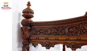 Elizabeth 1865 Antique Style Four Poster Bed Online in India
