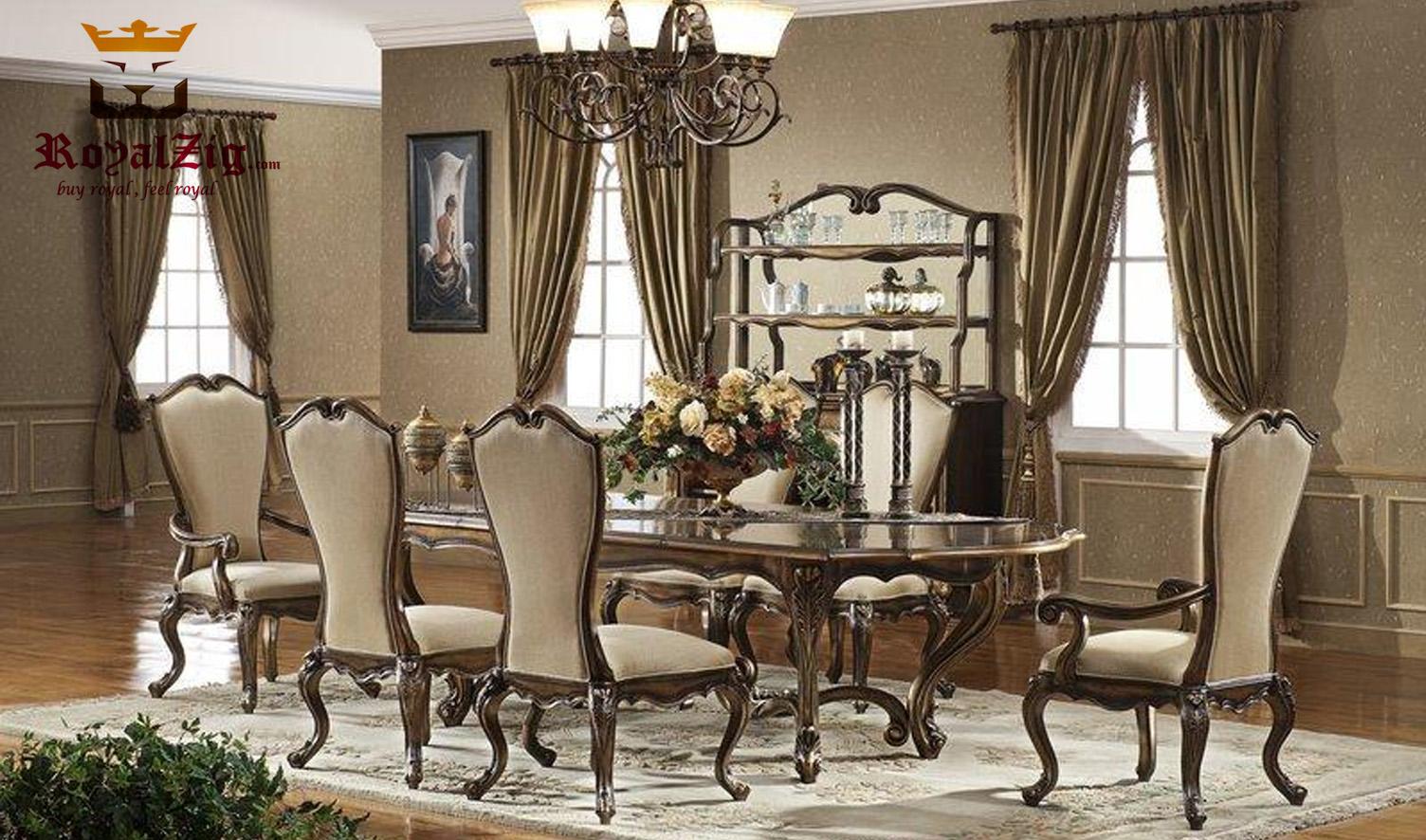 Elizabeth Vintage Style Antique Dining, Antique Dining Room Sets