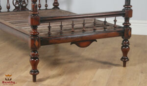 English Georgian Style Four Poster Bed Online in India