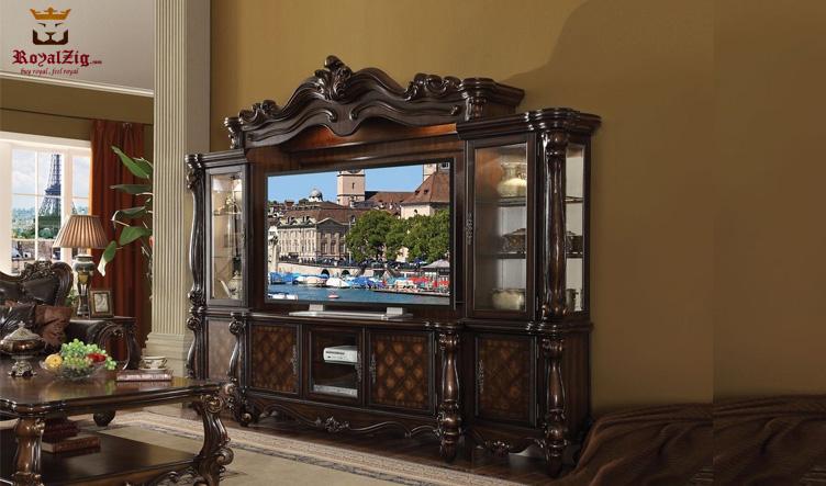European Style Carving TV unit