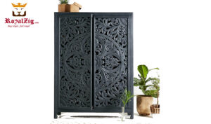 European Style Hand Carved Armoire