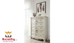 European Style Hand Carved Chest Of Drawers