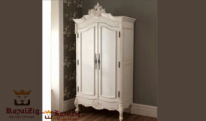 French Two Door Carved Wardrobe