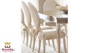 Glanbrook Modern Italian Style Round Dining Table Online in India