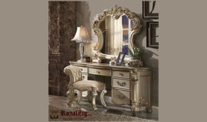 Grand Wooden Dressing Hand Crafted Online in India