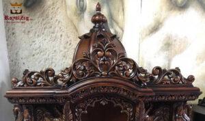 Handmade Teak Wooden temple for home