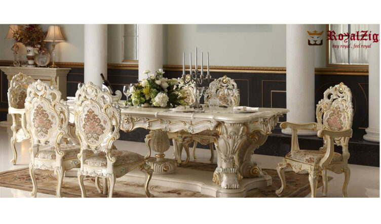 Imperial Dining Table Hand Crafted Online in India