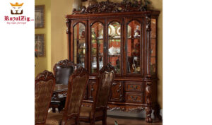 Indian Classical Style Crockery Unit