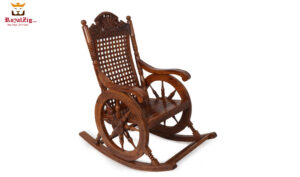 Indian Classical Style Rocking Chair