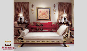 Juhu Victorian Style Upholstered Bench