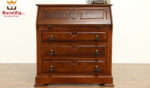 Juliana Antique Style Teak Wood Secretary Desk