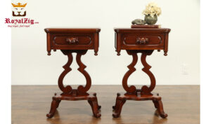 Liberia Antique Style Bed Side Tabe RZANS-002
