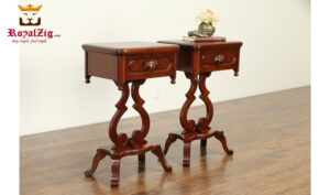 Liberia Antique Style Bed Side Table