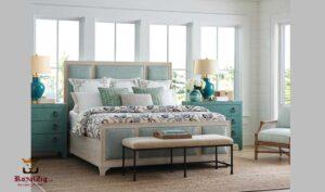 Lin Modern Luxury Queen Panel Bed