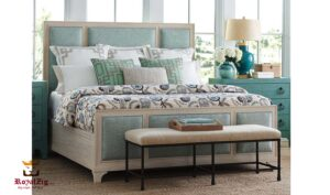 Lin Modern Luxury Queen Panel Bed
