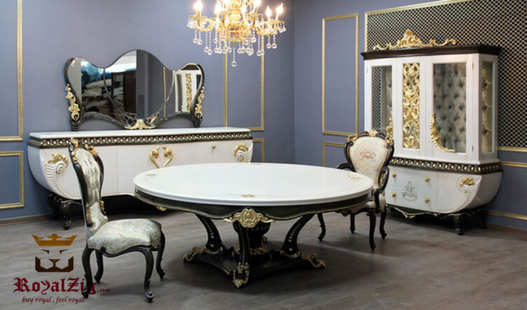 Lufus Handcrafted 4 Seater Dining Table Online in India