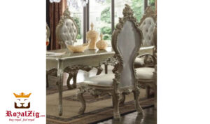 Luxury Dining Table Hand Carved Teak Wood Online in India