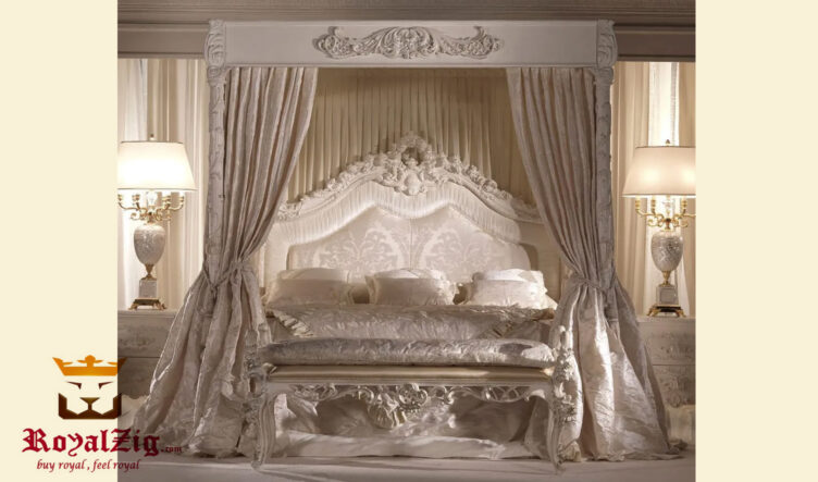 Luxury European Style Four Poster Bed Online in India