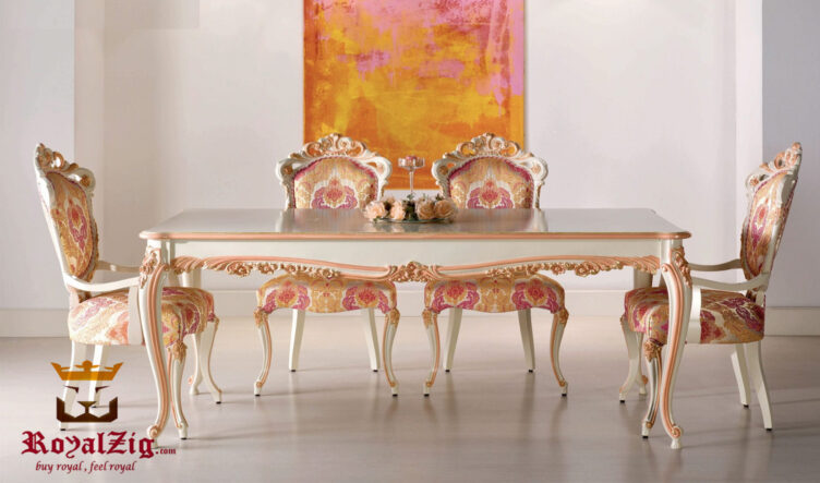 Luxury French Style Dining Set Online in India