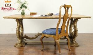 Luxury Hand Carved European Style Office Conference Table 1