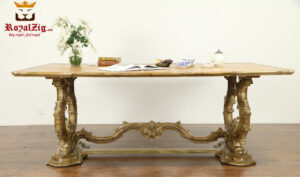Luxury Hand Carved European Style Office Conference Table