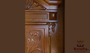 Luxury Hand Carved Exterior Door