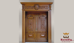 Luxury Hand Carved Exterior Door