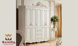 Luxury Hand Carved Wardrobe