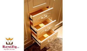 Luxury Italian Style Golden Wardrobe