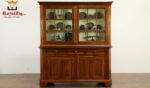 Mary Antique Wooden Display Cupboard