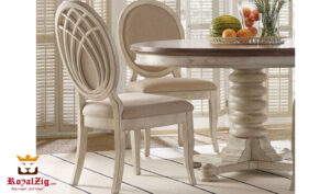 Miami Rustic Round Dining Table Online in India