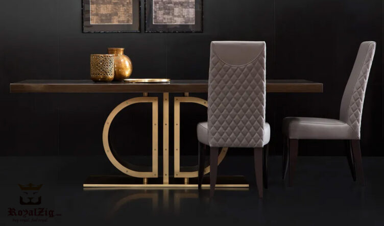 Modern Luxury Italian Style 6 Seater Dining table Online in India
