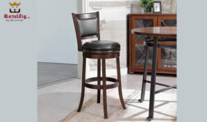 Modern Style Wooden Bar Stool Brand Royalzig