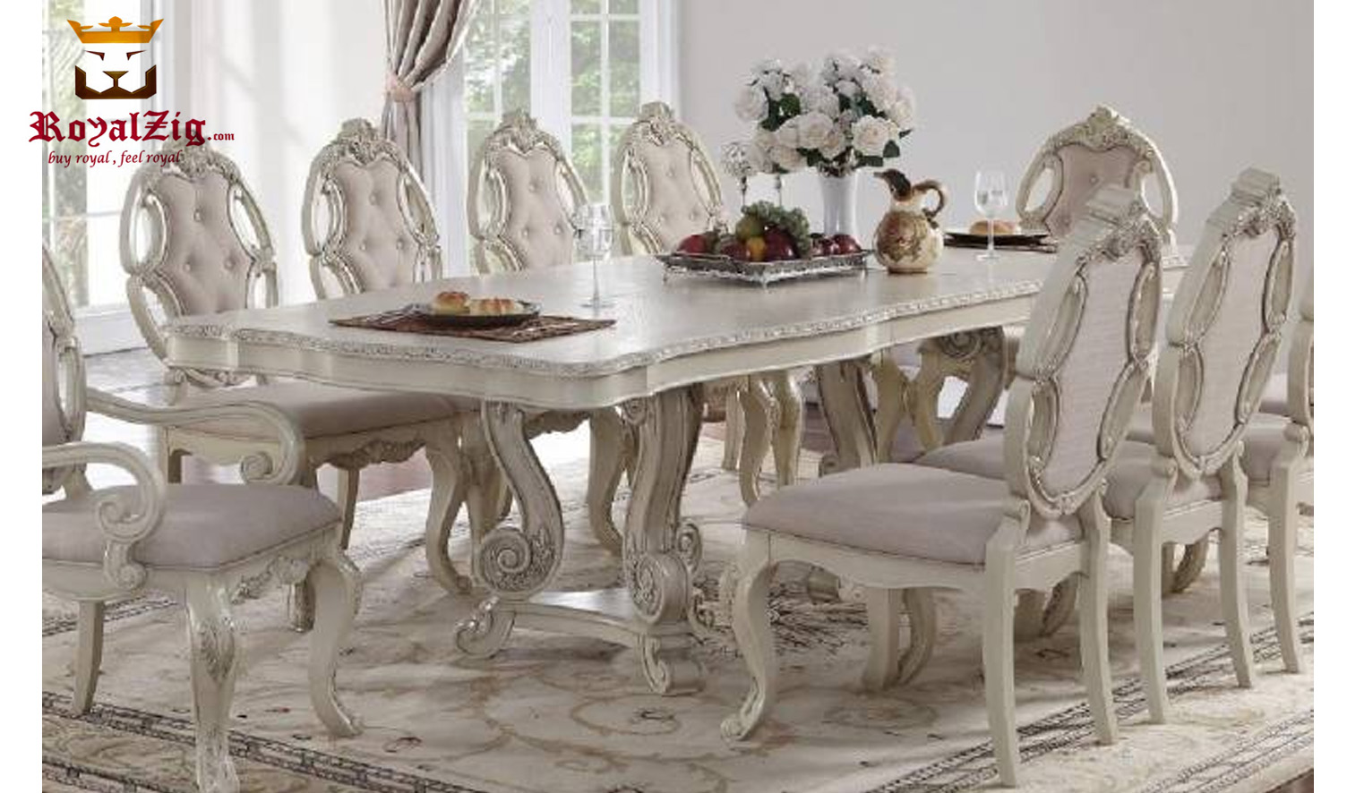 Napoleon French Style Dining Table Set Online in India