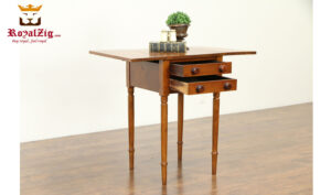 Napoleon Antique Style 2 Drawer Night Stand