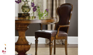 Oxfordshire Antique Style 4 seater Round Dining Table Online in India