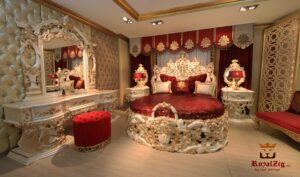Rania Hand Crafted Luxury Bedroom Set Online in India